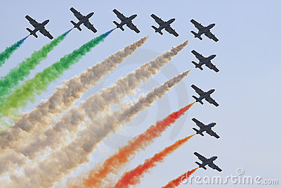 Italian aerobatics group