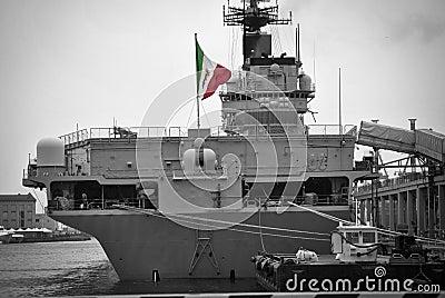Italian aircraft carrier