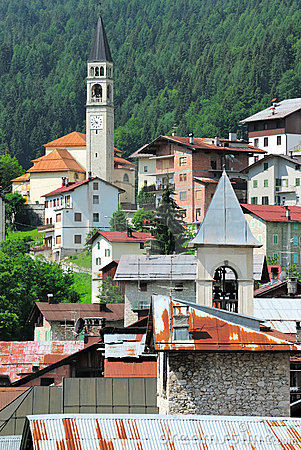 Italian alpine Village no.4