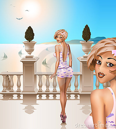 Italian balustrade