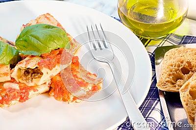 Italian Cannelloni Pasta