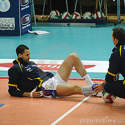 Italian Championship: Trentino Volley vs Macerata Editorial Image