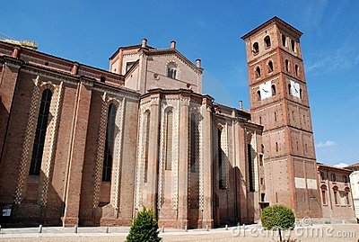 Italian church in asti