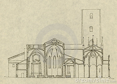 Italian church in Chieri