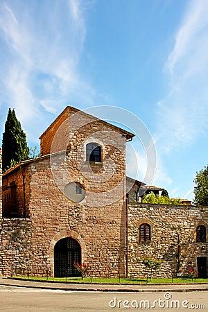 Free Italian City Of Assisi , Church Royalty Free Stock Image - 18241586