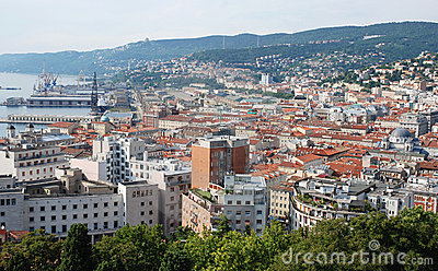 Italian city Trieste