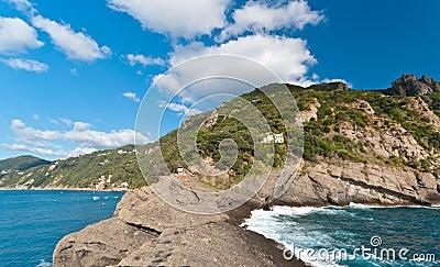 Italian coast line