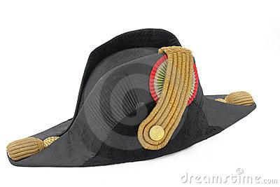 Italian cocked hat of Italian navy doctor