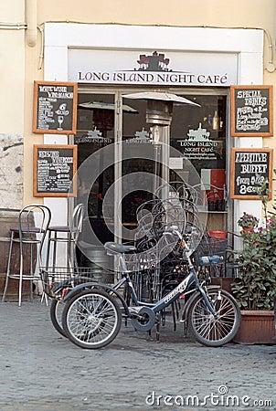 Italian coffee bar Editorial Stock Image