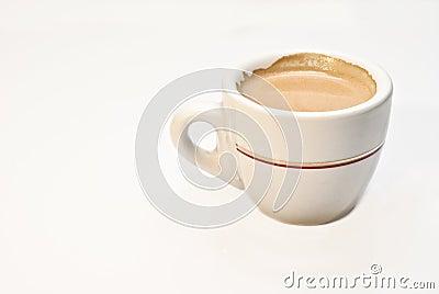 Italian coffee cup