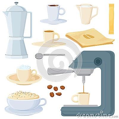 Italian coffee set
