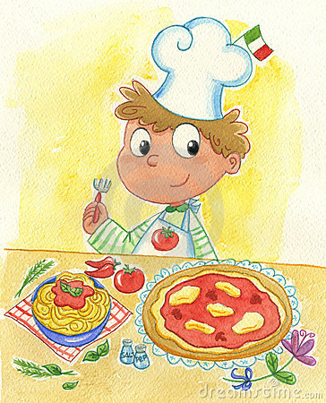 Free Italian Cook Stock Photo - 9430980
