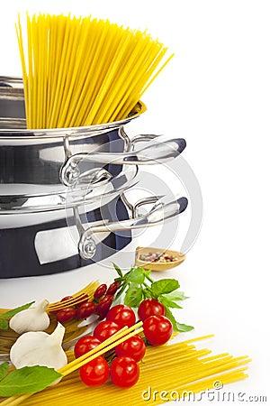 Italian cooking / pasta