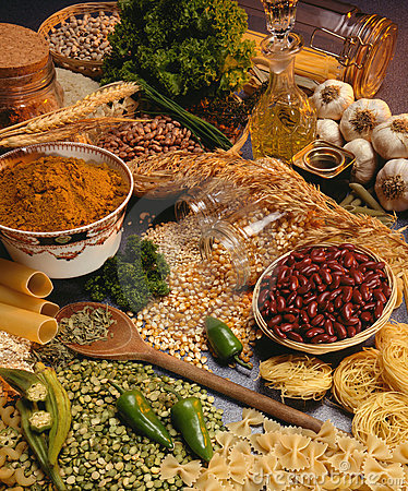 Free Italian Cooking - Pasta, Beans And Pulses Stock Photo - 17181670