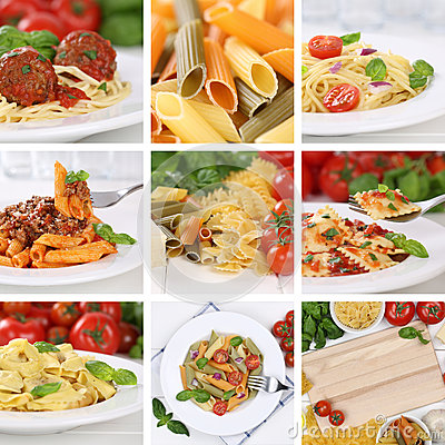 Free Italian Cuisine Collection Of Ingredients For A Spaghetti Pasta Royalty Free Stock Photo - 53302675