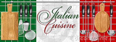 Italian cuisine set Kitchen utensils