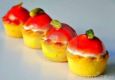 Italian cupcakes for morning breakfast