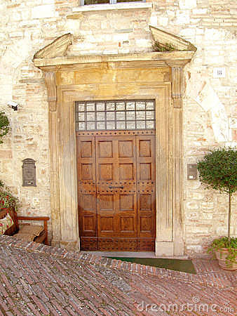 Free Italian Door Stock Photo - 3875680