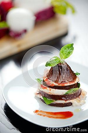 Italian Eggplant Parmiggiana