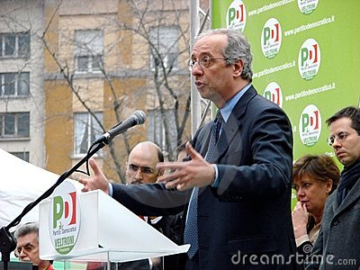 Italian elections: Veltroni in Editorial Photo