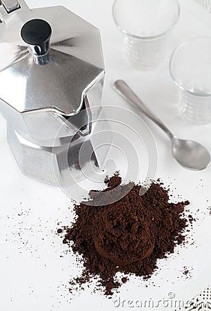 Italian Espresso Coffe Pot