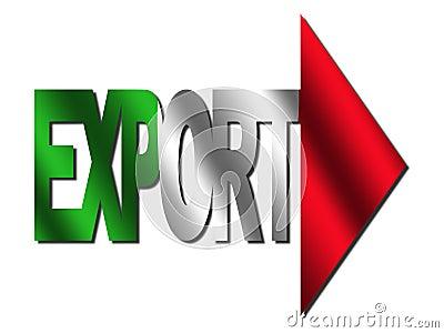 Italian export text
