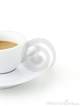 Italian Expresso with Clipping Path