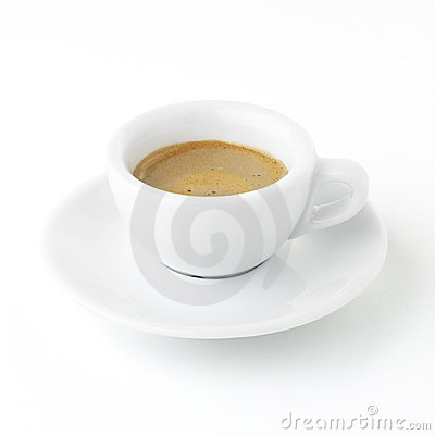 Italian Expresso - with Clipping Path