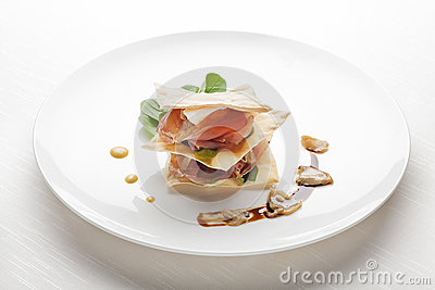 Fine Dining Appetizer Royalty Free Stock Images Image