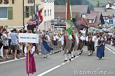 Italian folk fest Editorial Photo