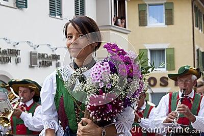 Italian folk fest Editorial Image