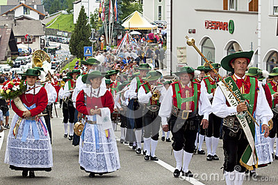 Italian folk fest Editorial Photography