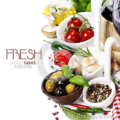 Free Italian Food. Stock Photo - 23329270
