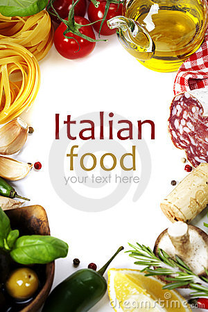 Free Italian Food. Royalty Free Stock Photography - 23329397