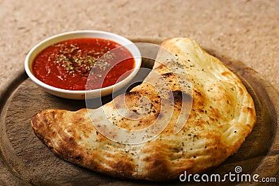 Italian food - calzone