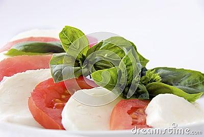 Italian food: caprese
