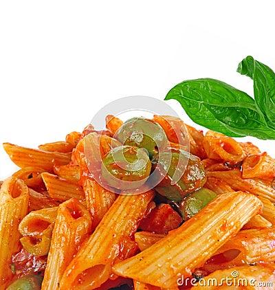 Italian food pasta