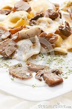 Italian food:tortellini
