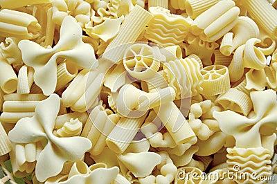 Italian food : white pasta