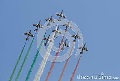 Italian Frecce Tricolori