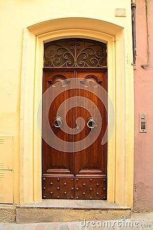 Italian front door