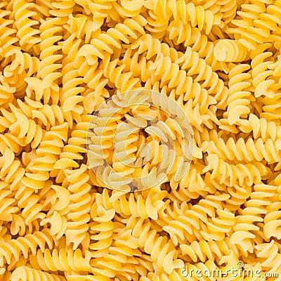 Free Italian Fusilli, Rotini Or Scroodle Macaroni Pasta Food Background Texture Stock Photography - 29473232