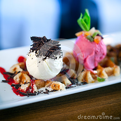 Italian gelato icecream