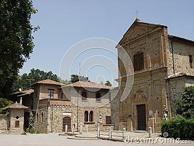 Italian ghost village