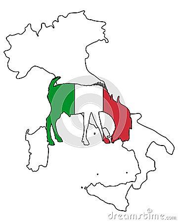 Italian he-goat