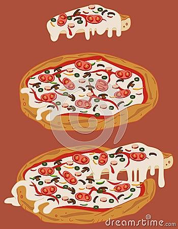 Italian handmade pizza 2