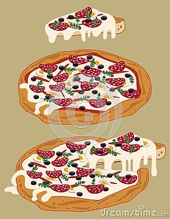 Italian handmade pizza 3