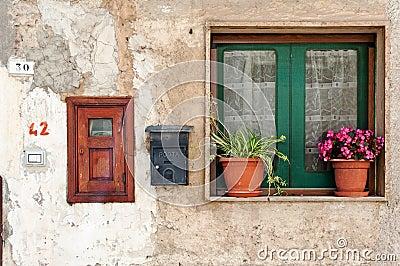 Italian home exterior
