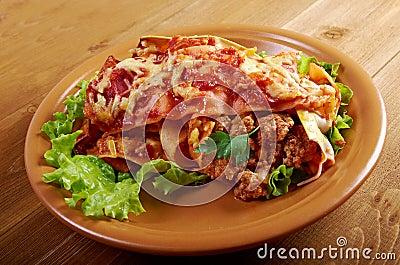 Italian homemade lasagna