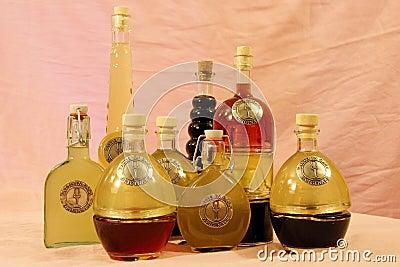Italian homemade liquors